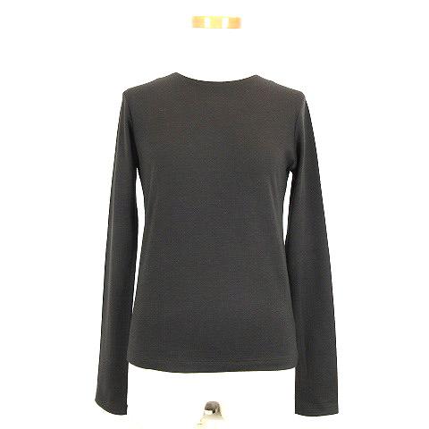 【中古】ワイズ Y's Tシャツ ロンT カットソー ウール A 300/3800 長袖 3 ブラウン 200806O